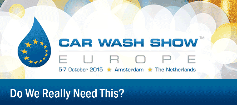 Car Wash Expo in Europe