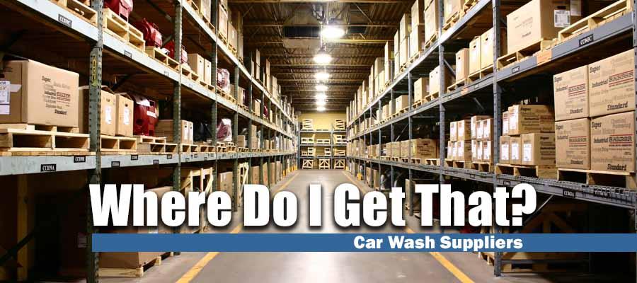 Car Wash Supplies