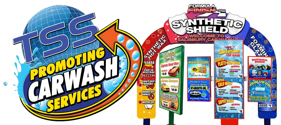 The Kings Of Car Wash Signage Entry Arches Car Wash Fanatic